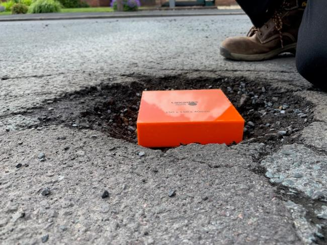 Council launch campaign for residents to report potholes