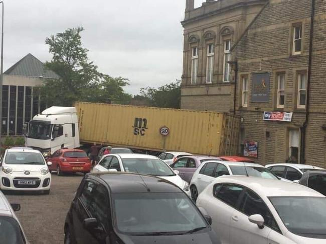 Motorists warned about rush-hour delays as lorry is stuck on main road