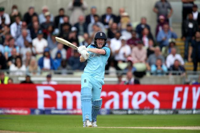 Eoin Morgan will lead England into the World Cup final on Sunday