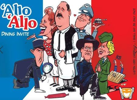 Allo Allo Dinner Show - BW Carlton Hotel Blackpool 28th September