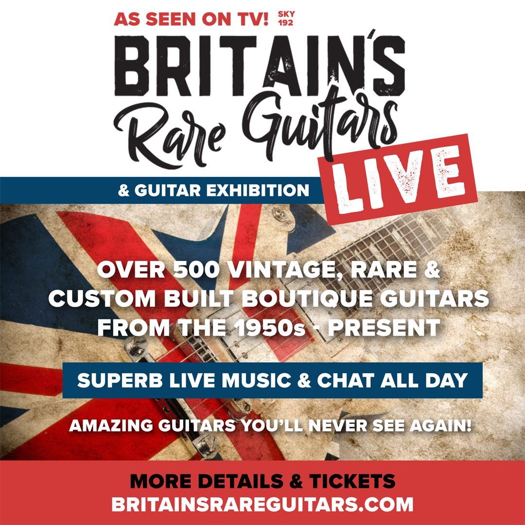 Britain's Rare Guitars Live