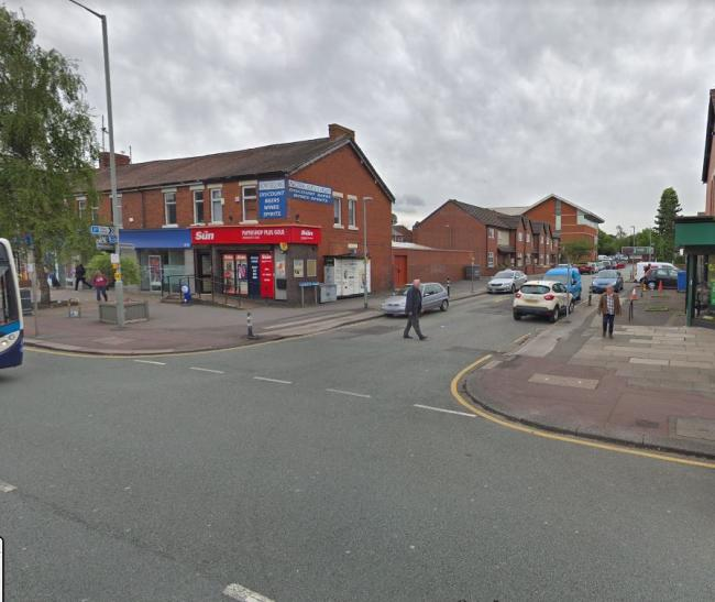 90-year-old pensioner hit on Leyland main road