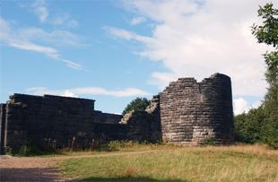 BEAUTY SPOT: The castle at Rivington Reservoir, where the illegal rave was held