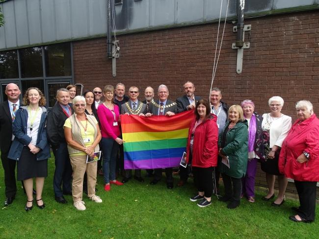 Rainbow Flag flying in South Ribble as Preston Pride gears up for busy weekend