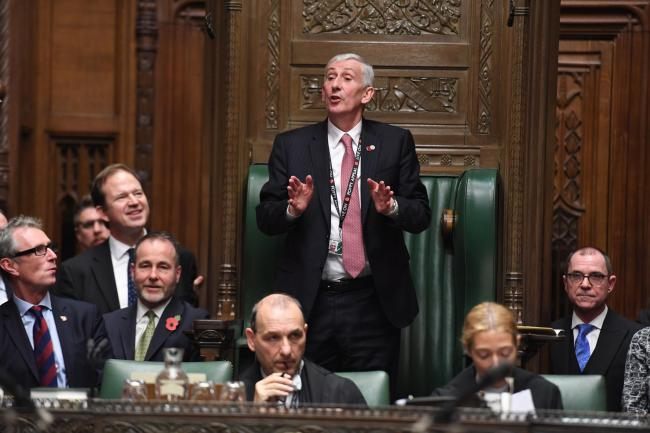 Sir Lindsay Hoyle: From textiles printer to House of Commons speaker's chair | Chorley Citizen