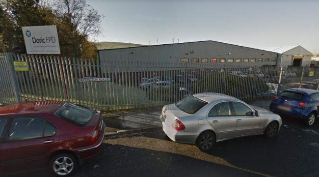Man in his 20s dies after becoming trapped in machine at work