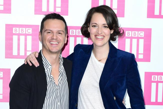 Andrew Scott and Phoebe Waller-Bridge