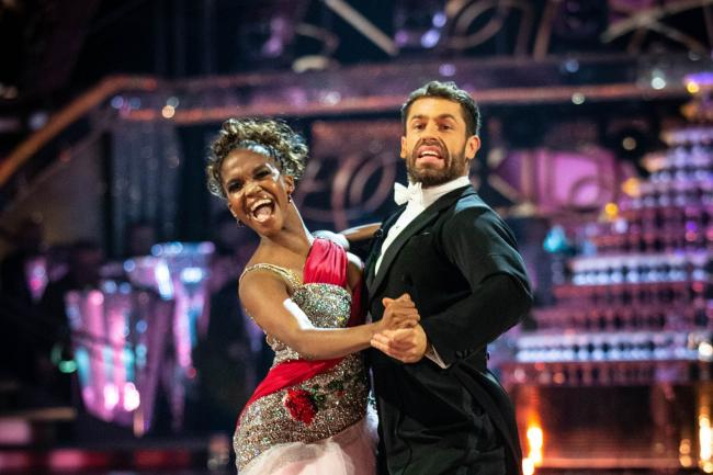 Kelvin Fletcher and Oti Mabuse on Strictly Come Dancing