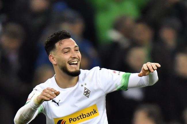 Ramy Bensabaini was Borussia Moenchengladbach's hero with both goals in a 2-1 home win over Bayern Munich