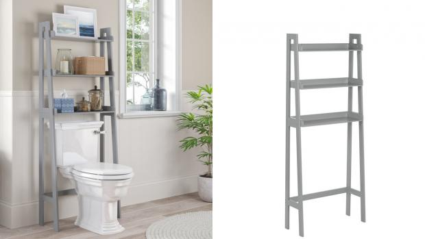 Chorley Citizen: Over-the-toilet units provide a lot more storage space. Credit: Wayfair