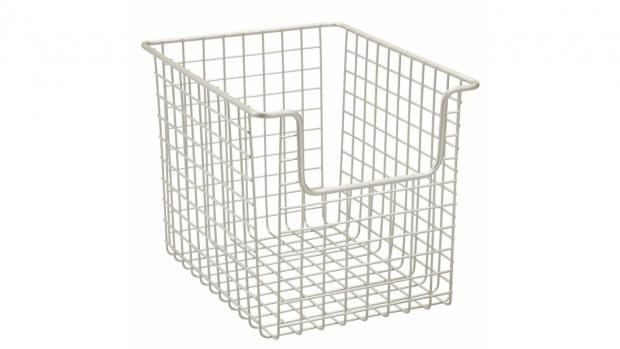 Chorley Citizen: Baskets can help organise all your bathroom essentials. Credit: Amazon