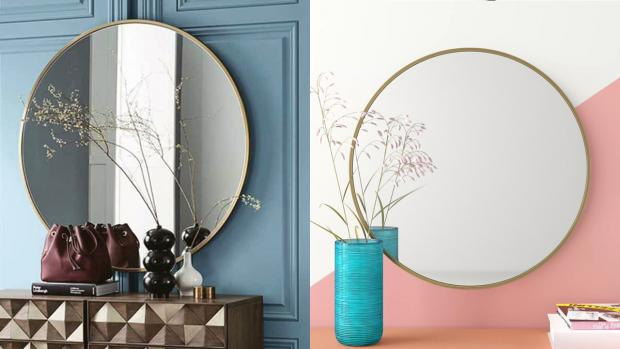 Chorley Citizen: A bigger, more modern mirror will create the illusion of more space. Credit: Wayfair