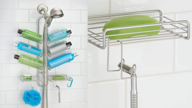 Chorley Citizen: A shower caddy will provide extra space for soap, shampoo, and more. Credit: Amazon
