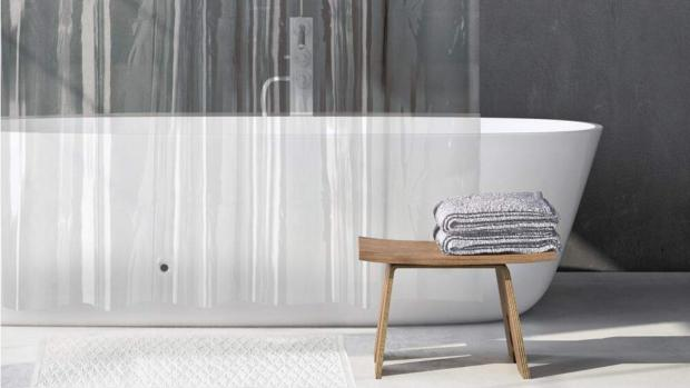 Chorley Citizen: A clean shower liner will make your bathroom much more welcoming. Credit: Amazon