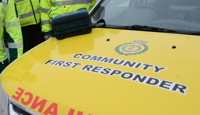 A recruit drive is underway for Community First Responders in Lancashire