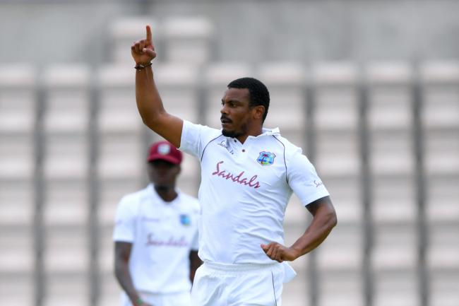 Shannon Gabriel claimed two more wickets on the second morning