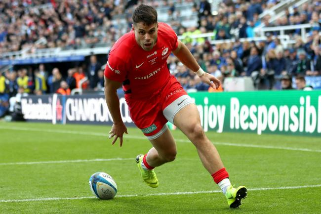 Sean Maitland will be part of the Saracens squad in the Championship next season