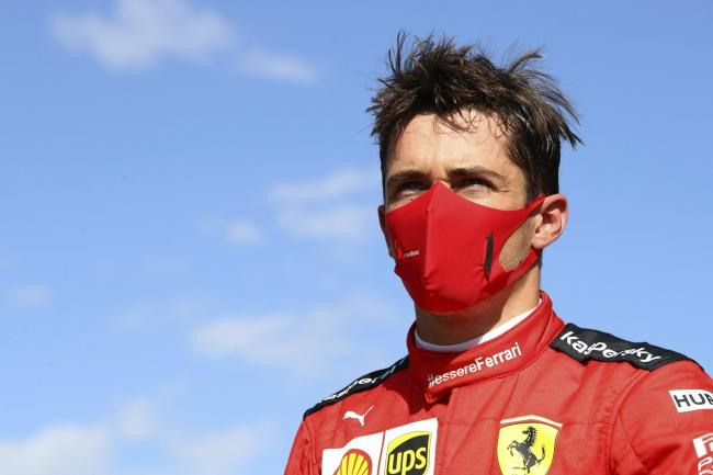 Charles Leclerc has been warned
