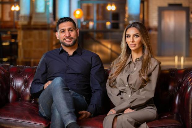 Meet The Khans: Big In Bolton follows the professional boxer's home life with his wife and their three children. (BBC)
