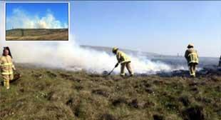 Fifty firefighters tackle Rivington moorland blaze