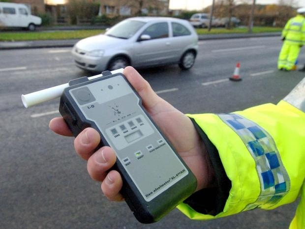 More drink drivers were caught this Christmas