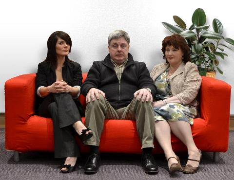 Natural Causes cast: Rachel Brennan, Andy Burke, Moyra Cook
