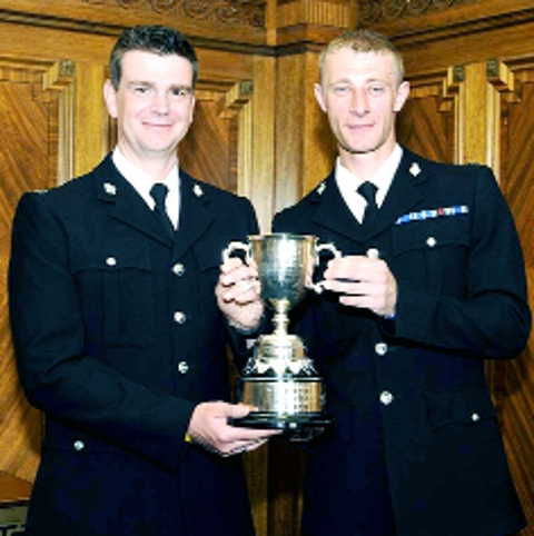 Brave East Lancashire policemen up for top award