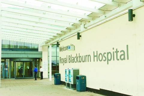 Chorley Citizen: Royal Blackburn Hospital