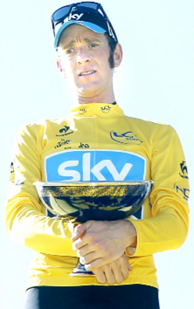 Tour de France winner Bradley Wiggins