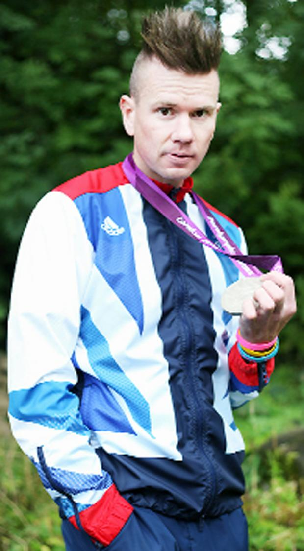 Paralympic cyclist Rik Waddon will be at the event