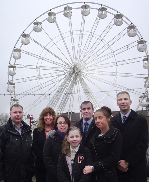 Chorley's big wheel has been a hit