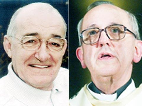 Jim Bowen and Pope Francis