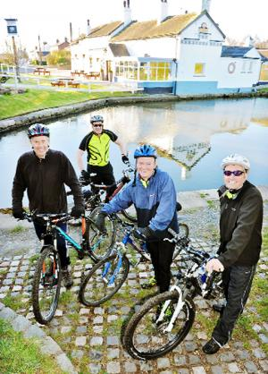Chorley firm raises thousands for charity with sponsored cycle