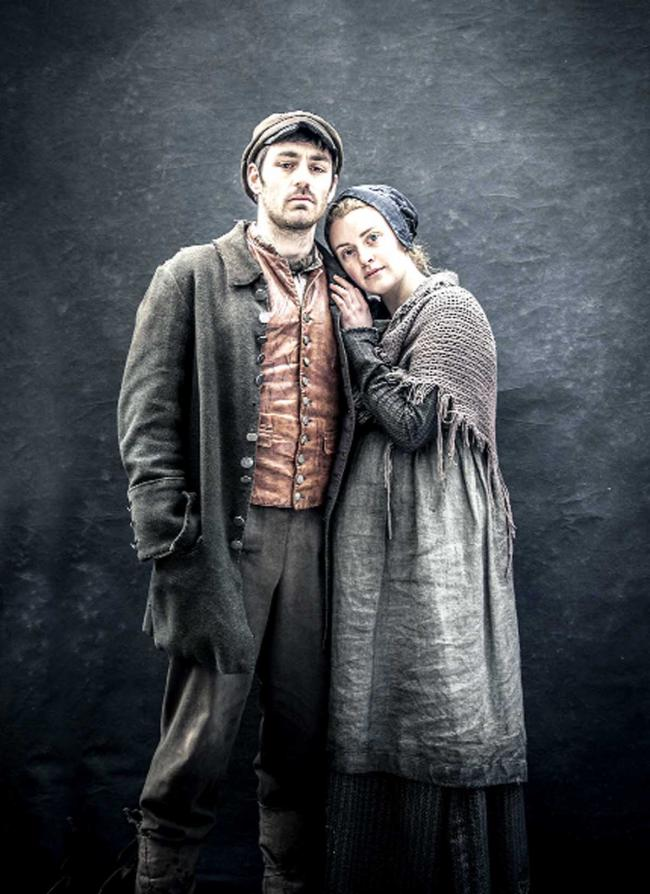 Matthew McNulty and Holly Lucas in The Mill