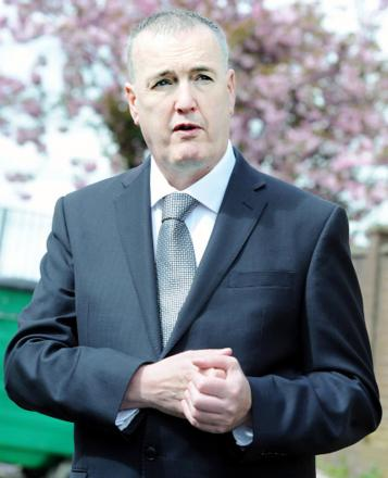 Police and crime commissioner for Lancashire Clive Grunshaw