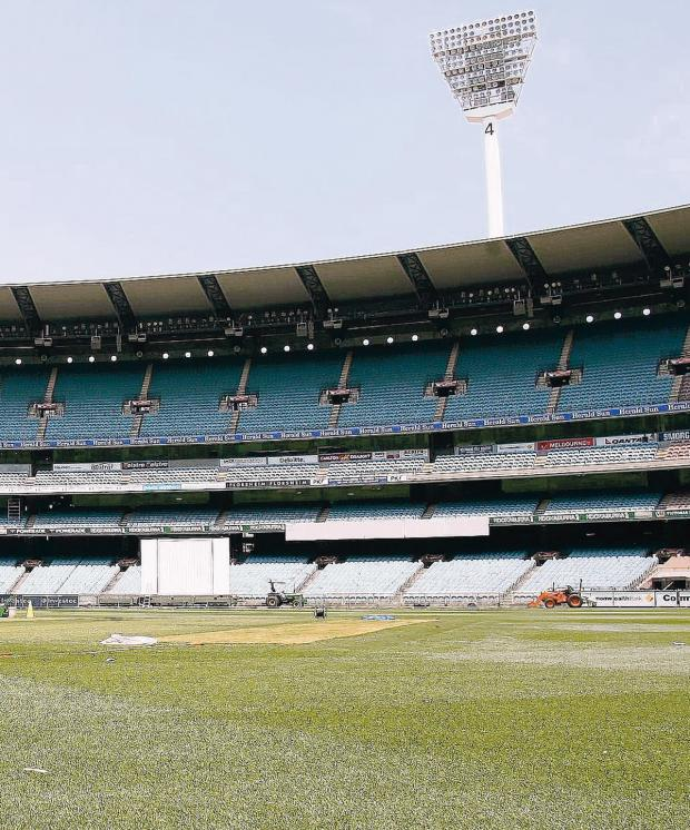 Chorley Citizen: HOME OF CRICKET: The Melbourne Cricket Ground is one of the most recognisable sights in the cricket world