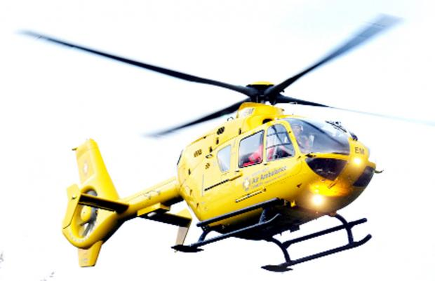 Chorley Citizen: The schoolboy has been taken to Royal Manchester Children's Hospital