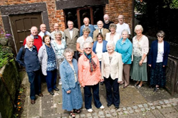 South Ribble Museum and Exhibition Centre volunteers