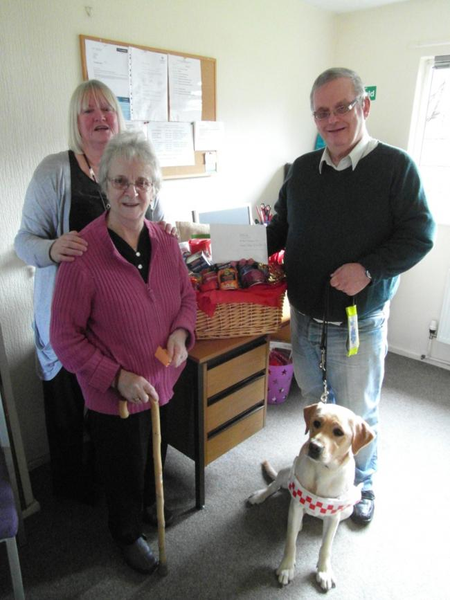 Coppull hamper raffle boosts charity funds