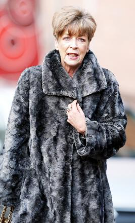 Ms Kirkbride, a stalwart of the ITV soap as Deirdre Barlow