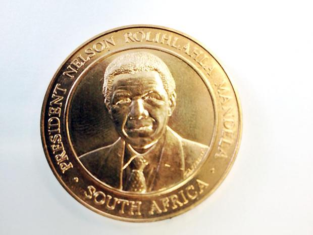 VALUABLE: The commemorative piece that was among the haul stolen