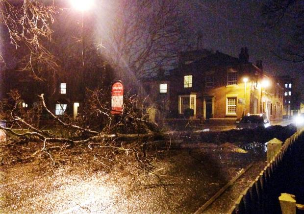 Hundreds without power after East Lancashire hit by 70mph gales