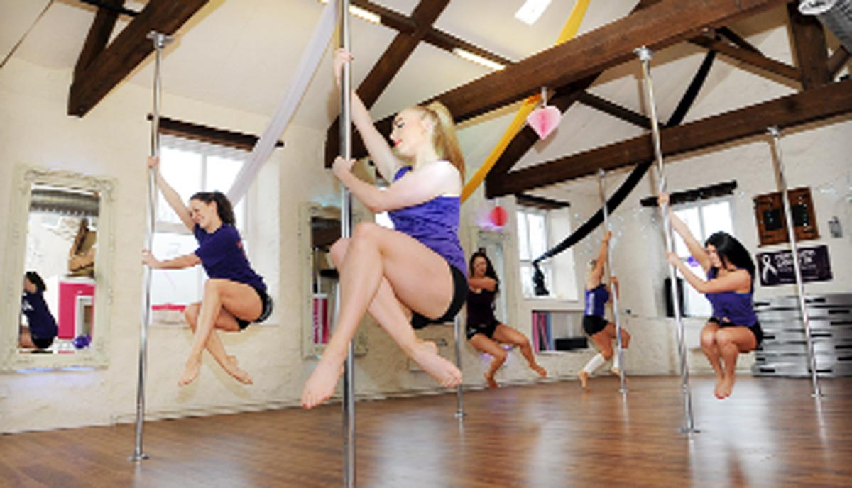East Lancashire pole dancers in world record bid