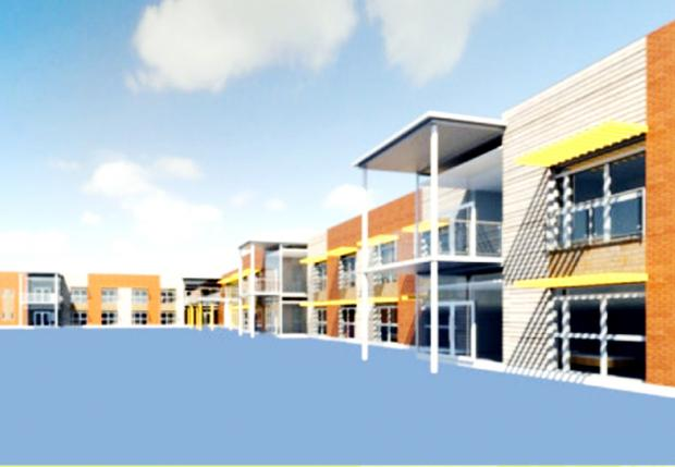 PLAN FOR NEW SPECIALIST UNIT: An artist's impression of the proposed Sue Ryder care centre