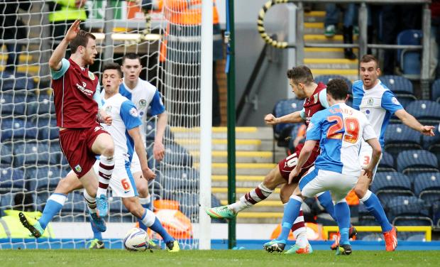 Danny Ings scores the winner against Blackburn Rovers
