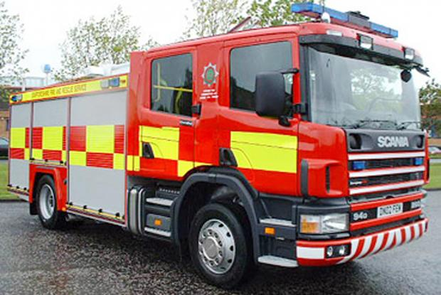 Chorley play area fire tackled by crews