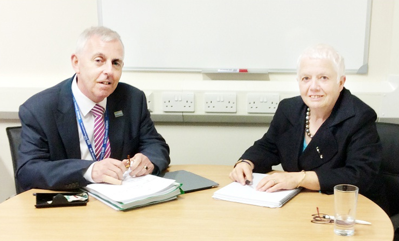 Duo tasked with turning around East Lancs health services are pleased with improvements