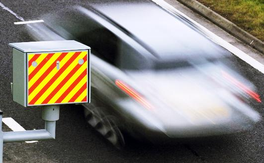 Two of the worst cases of speeding were clocked on roads in East Lancashire