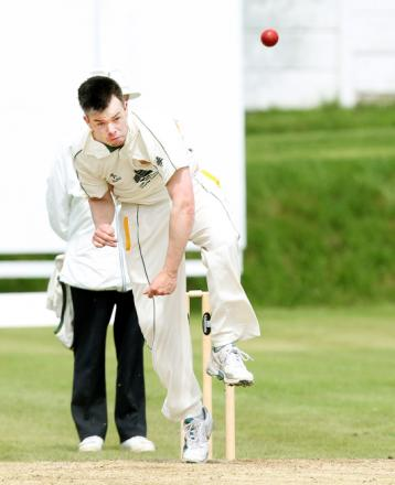MIXED RESULTS: Kieran McCullagh bowls for Chorley
