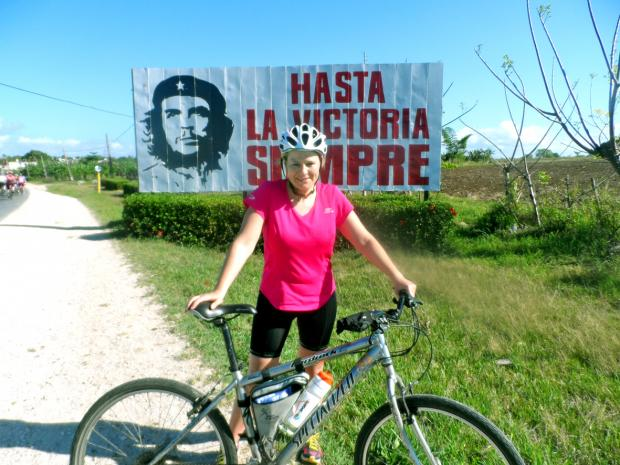 Chorley Citizen: Eccleston woman in cross Cuba cycle challenge